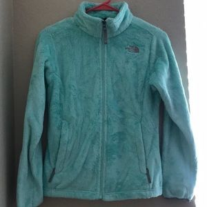 The North Face fuzzy Mint Jacket